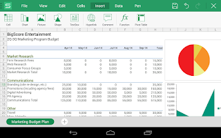 Screenshot of WPS Office + PDF
