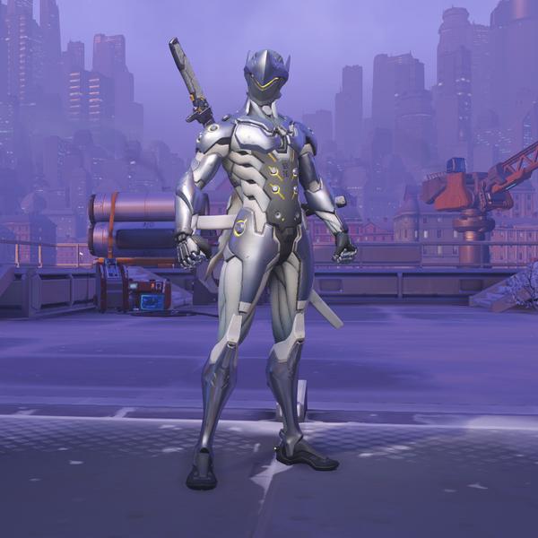 Chrome Genji Skin