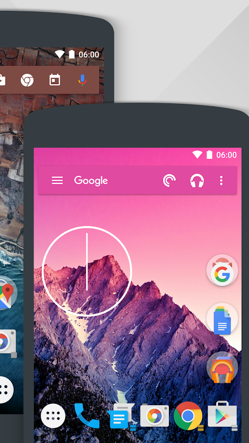 Action Launcher 3– skärmdump