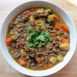 Indian Ground Beef Coconut Curry.