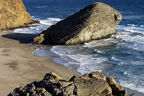 Parque Natural Cabo de Gata-Níjar, cala de Mónsul.