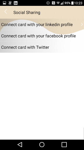 smartBcard - business cards 2.9.6 screenshots 4