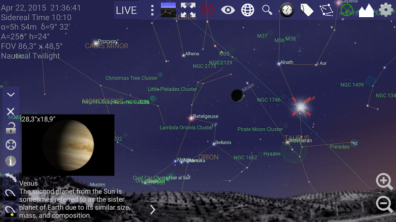 Mobile Observatory – Astronomy v2.75d [Paid] 1