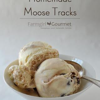 Homemade Moose Tracks.