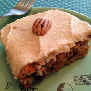 Vegan Carrot Cake Recipe Review