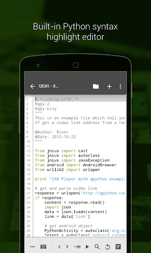 QPython - Python for Android 2.2.3-1 screenshots 3
