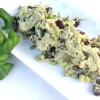 Walnut Pesto Chicken Salad