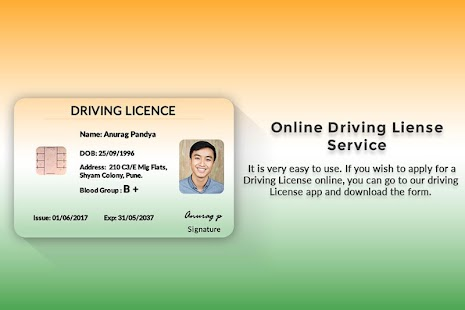 Driving Licence Online Apply - náhled