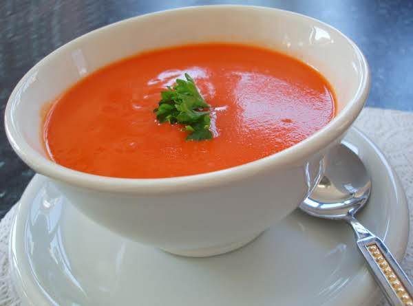 Creamy Tomato Soup From Grandma Fuller