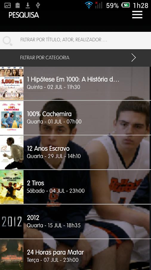 TVCine - screenshot