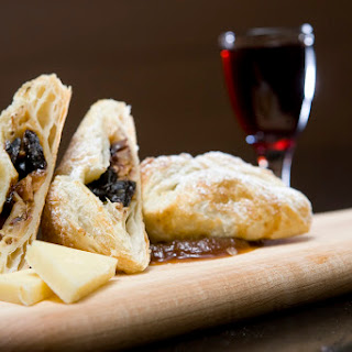 Dried Cherry, Apple, Almond Turnovers with Cabot Sharp Cheddar