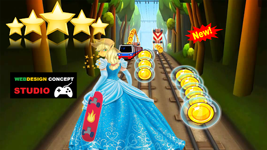 Subway Pony Princess Run Surf - náhled