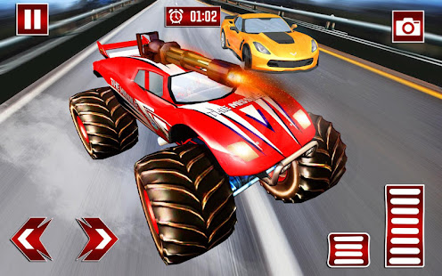 Monster Shooting Car:Highway Shooting Game for PC-Windows 7,8,10 and Mac apk screenshot 1