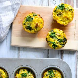 Basic Vegetable Frittata Muffins.