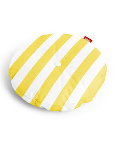 Fatboy® circle pillow stripe yellow
