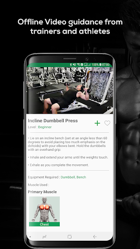 Fitvate - Home & Gym Workout Trainer Fitness Plans 6.8 screenshots 5