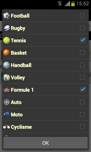 Programme TV Sports 2.1.4 screenshots 3