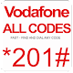 Vodafone All Codes for PC-Windows 7,8,10 and Mac