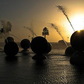 by Carlos De Sousa Ramos - City,  Street & Park  Fountains