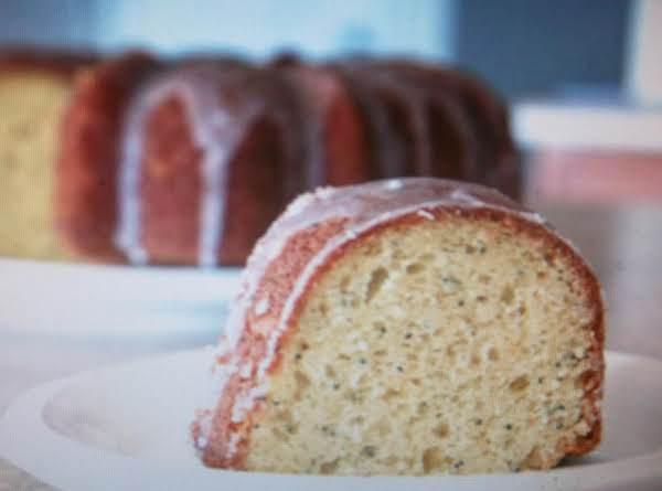 Great Grandmother's Lemon Poppy Seed Cake