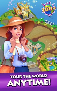 Gummy Drop! Match to restore and build cities Mod Apk Download For Android 4