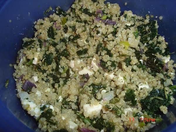 Spanakopita Quinoa Recipe