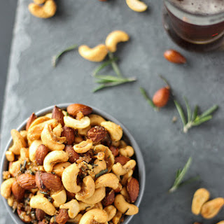 Roasted Rosemary and Cayenne Nuts Recipe