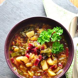 Beet Greens Soup Recipes.