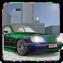 Benz E500 W124 Drift Simulator:Car Games Racing 3D icon