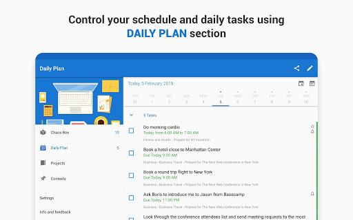 Chaos Control: GTD Organizer & Task List Manager screenshots apkspray 13