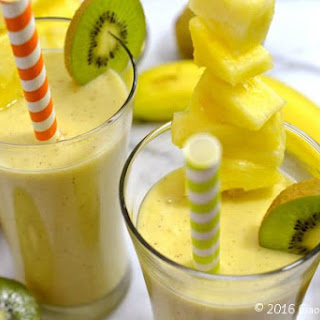 Tropical Fruit Smoothie.