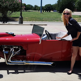 Sungleasses and a red roadster by Aaron Buck - Transportation Automobiles (  )