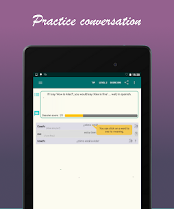 Learn Spanish with SpeakTribe App Latest Version Download For Android and iPhone 8