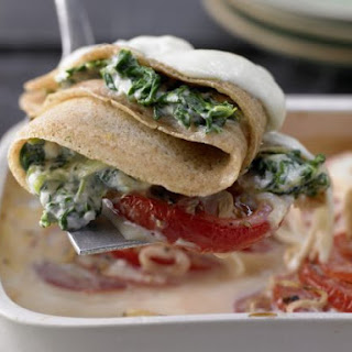 Crepes with Spinach and Ricotta Recipe