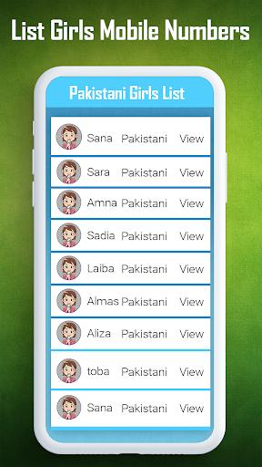 Free girls Numbers - girlfriend Mobile Chat Prank 1.0 screenshots 2