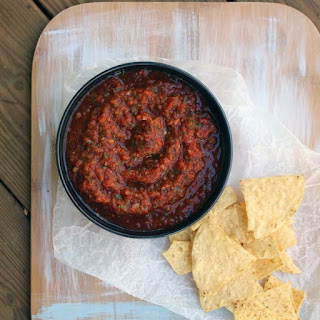 Roasted Chili and Tomato Salsa