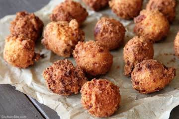 Pimiento Cheese Hush Puppies
