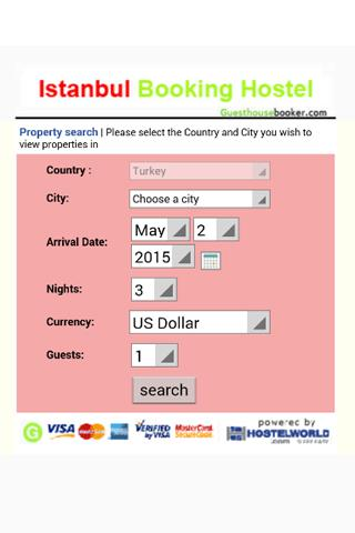 Istanbul Hostel Booking 2