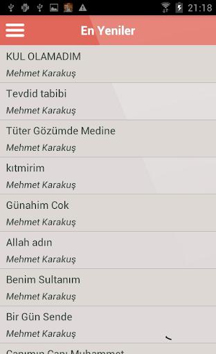 Mehmet Karakuş İlahileri Dinle