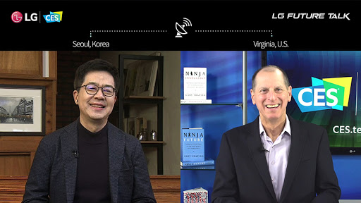 LG's Dr I.P. Park and the Consumer Technology Association's Gary Shapiro share thoughts on open innovation in a new era.