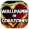 Wallpaper de Corazones icon