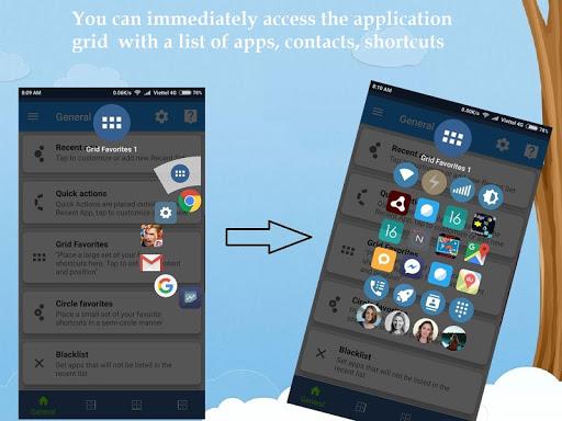 Sidebar, Edge Screen, Shortcuts - Swiftly Switch screenshots 5