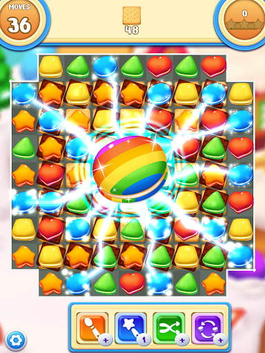 Cookie Macaron Pop : Sweet Match 3 Puzzle  screenshots 7
