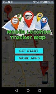 Mobile Location Tracker Map screenshot 0