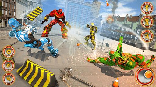 Flying Dragon Robot Car - Robot Transforming Games 2.5 screenshots 14