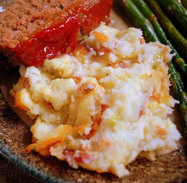 Baked Mashed Potatoes Recipe