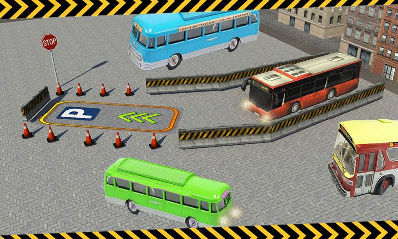City Bus Parking 3D Simulator- screenshot