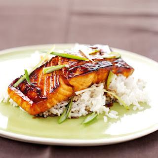 Mirin Glazed Salmon.