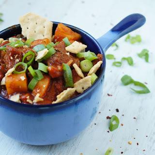 Sweet Potato Paleo Chili!.
