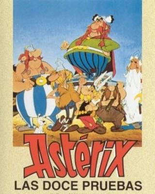 Astérix y las doce pruebas (1976, René Goscinny, Albert Uderzo y Pierre Watrin)